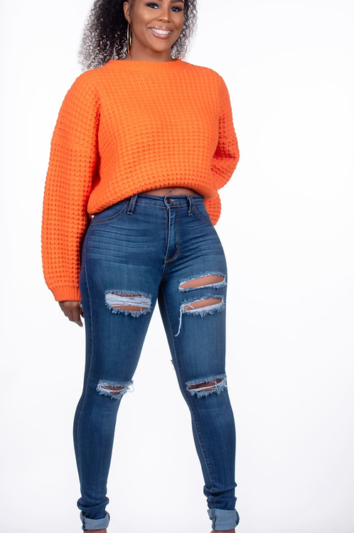 Cali Chunky Sweater Top