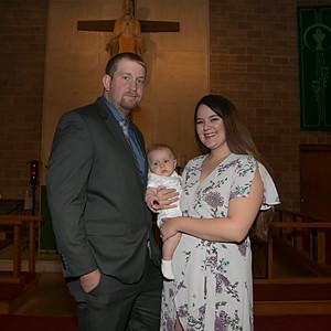 JV's Baptism