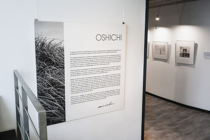 "My solo photo exhibition ""Two journeys, One story"" was held in Milan organized by Fond Mal"