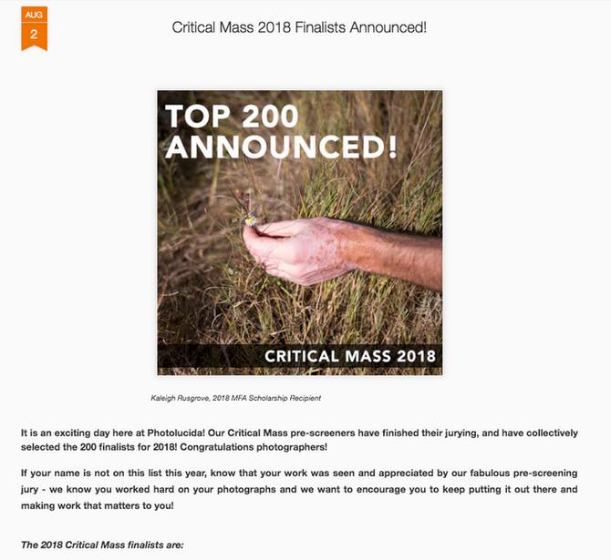 2018 Critical Mass Top200