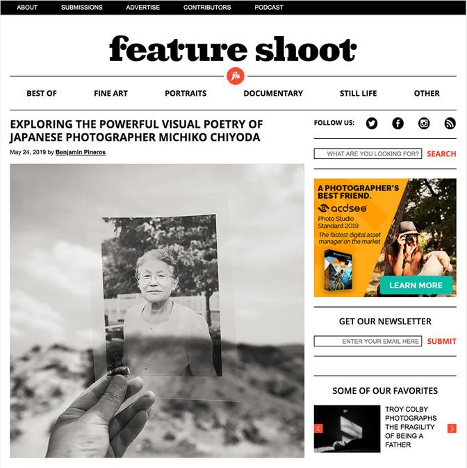作品やインタビューが多数のマガジンに掲載