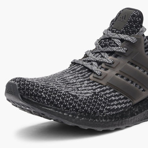 The adidas Ultra Boost 3.0 'Black Silver' is Slated for Spring Release