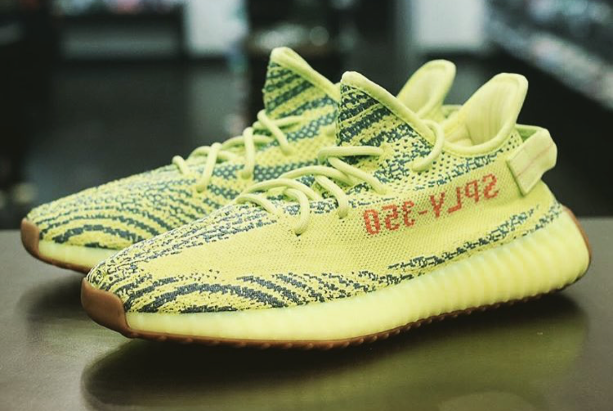 fadace282d50e All Links To Buy The Semi Frozen Yellow Yeezy 350 V2 (B37572 ...