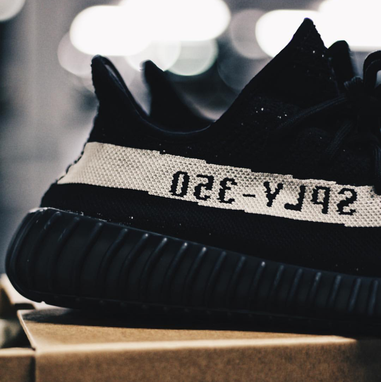 7110f18ed51e9 Core Black Yeezy Boost 350 V2 Resell Price