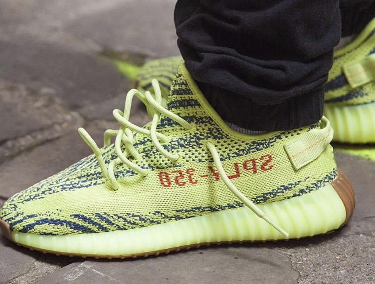 adidas yeezy boost 350 v2 semi frozen yellow resale value