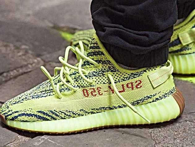 0d02f80edb7d The Resell Price of the Semi Frozen Yellow Yeezy 350 V2 (B37572 ...