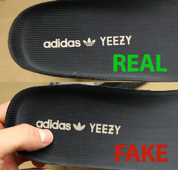 Adidas Yeezy Fake And Real