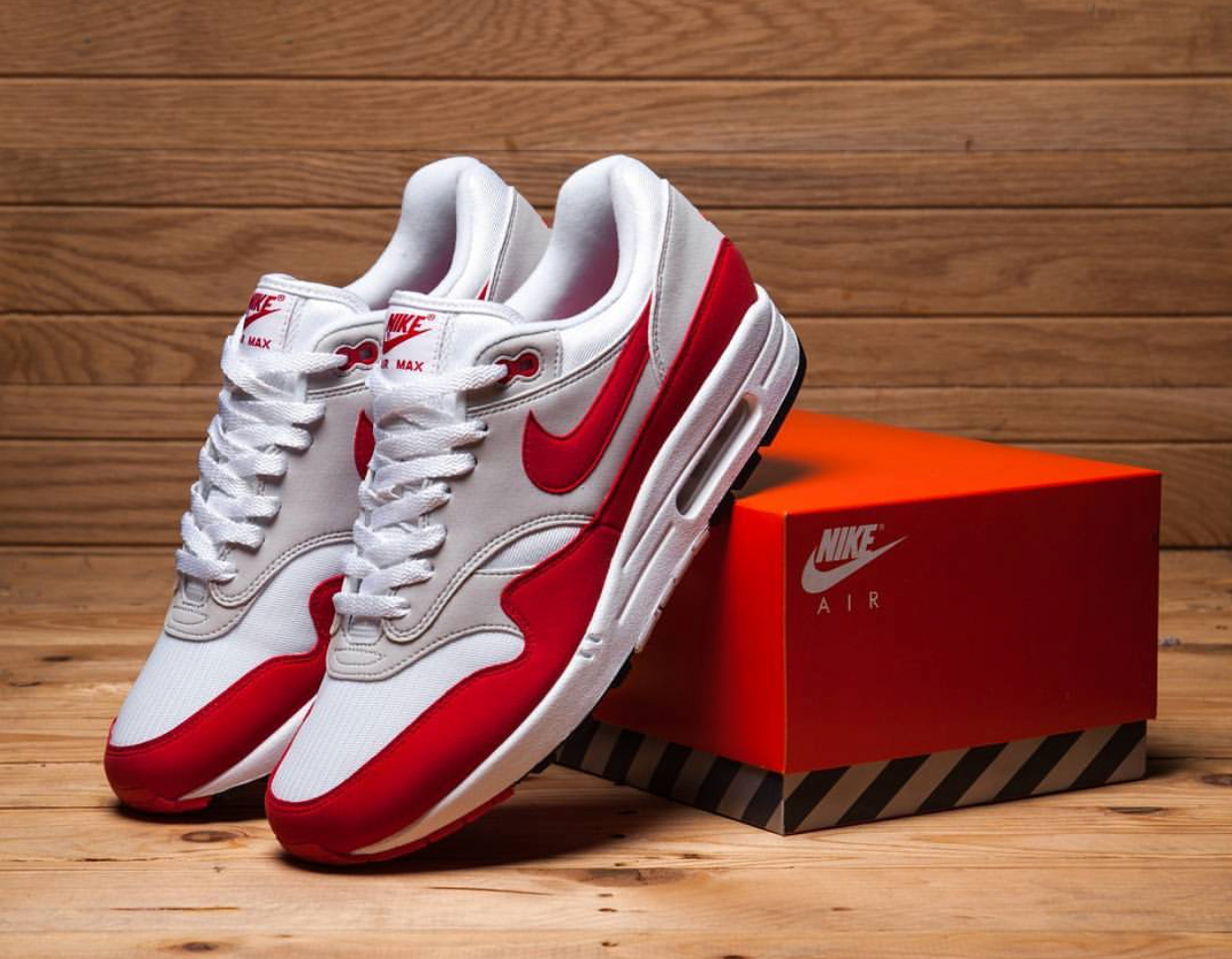 more photos 75aeb c33f6 All Links To Buy The OG Nike Air Max 1 Red 2017 30th ...