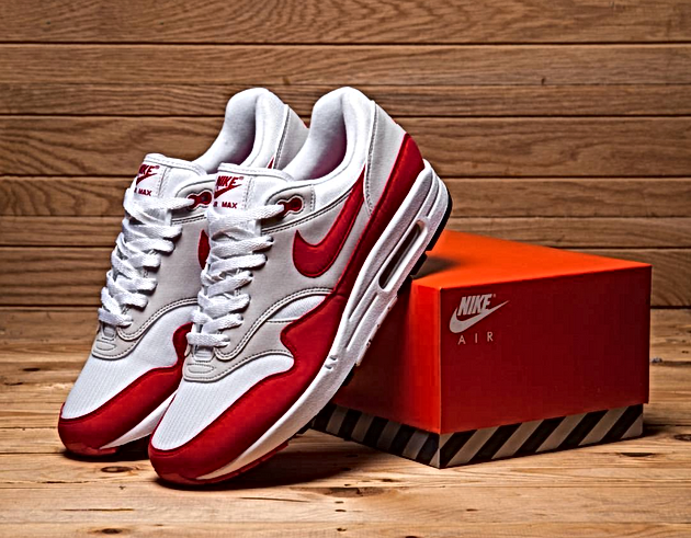 e0118209c8 All Links To Buy The OG Nike Air Max 1 Red 2017 30th Anniversary Sneaker