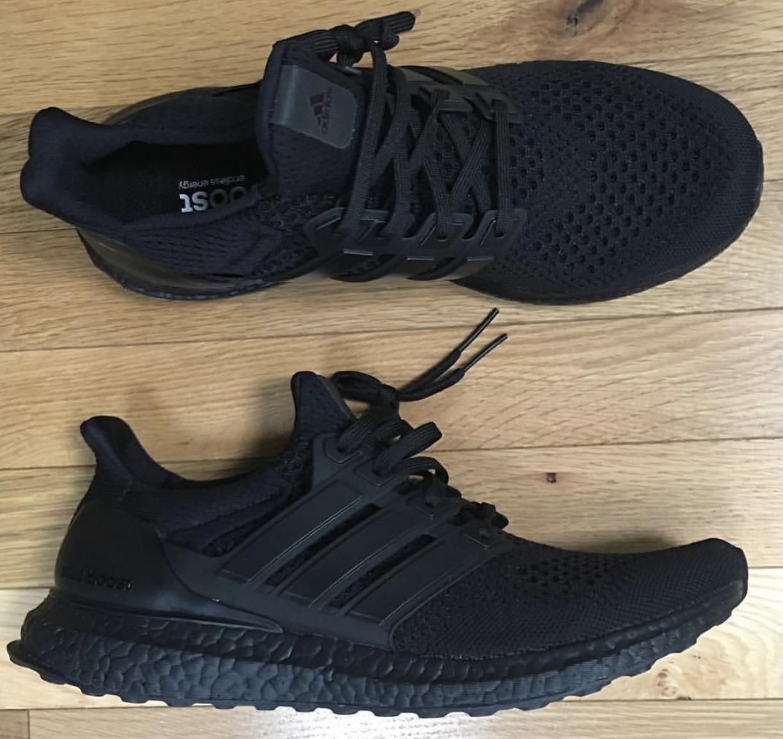 20adf46f6c831 New Triple Black Adidas Ultra Boost (BB4677) Release Date