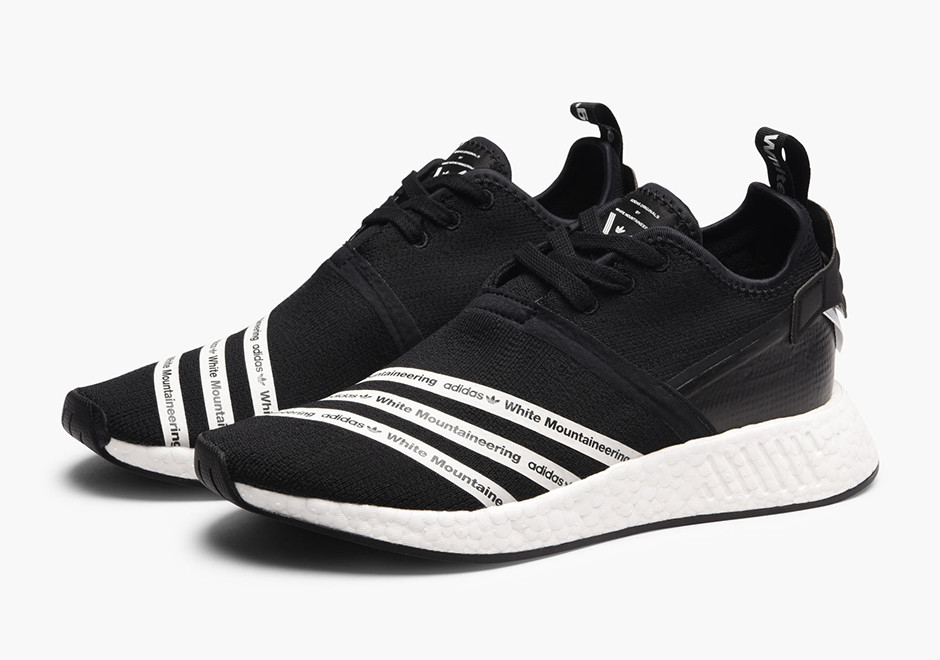 info for 82906 1d565 All Links To Buy Adidas x White Mountaineering NMD R2 Black ...