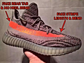 052f3735e41 The above image shows an overall legit check from a FAKE Beluga Yeezy Boost  350 V2 and a real pair