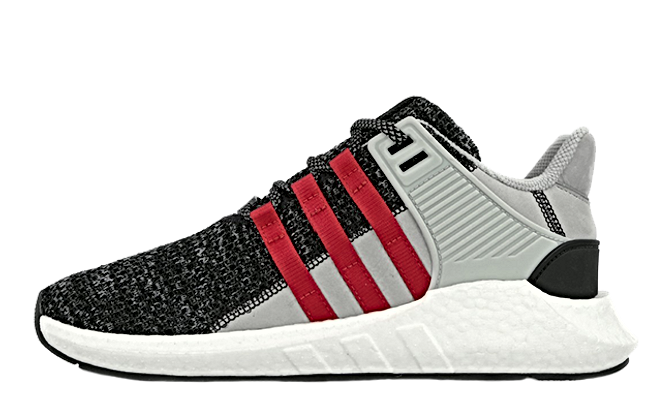 EQT Support 93/17 'Black Glitch' Adidas BZ0584 core black/core