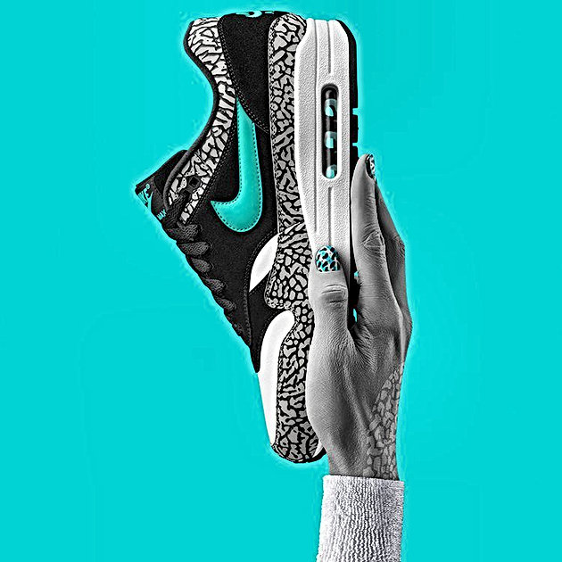 hot sale online 87ddd 2c30b All Links To Buy Nike Air Max 1 Atmos Elephant 2017 - 18th March ...