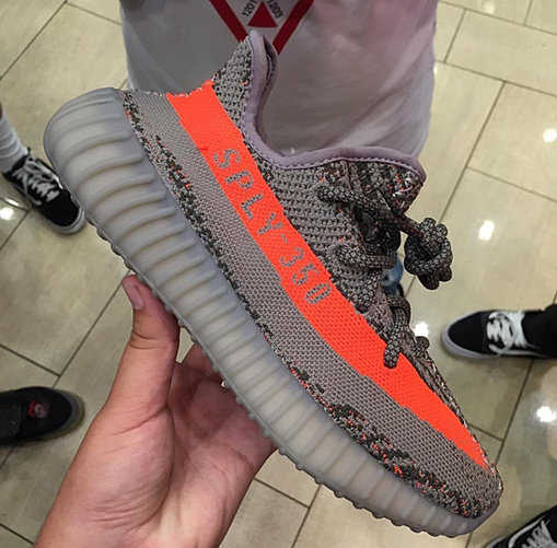 Men 's Authentic Yeezy Boost 350 V 2 Beluga Solar Red Shoes With