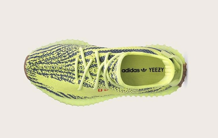 c283f649c Entire Store List For The Semi Frozen Yellow Yeezy 350 V2 (B37572 ...