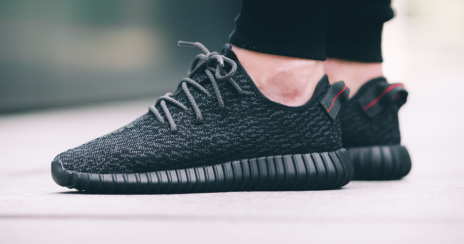 Adidas Yeezy Boost 350 - Pirate Black  7b6f7becb