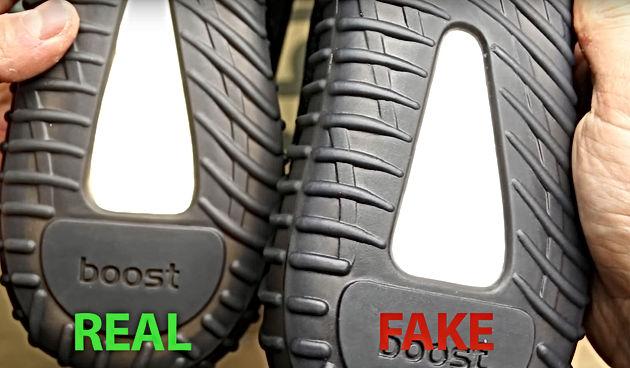 0e7f998e551e2 Core Black Yeezy Boost 350 V2 (BY1604) Fake vs Real Legit Check ...