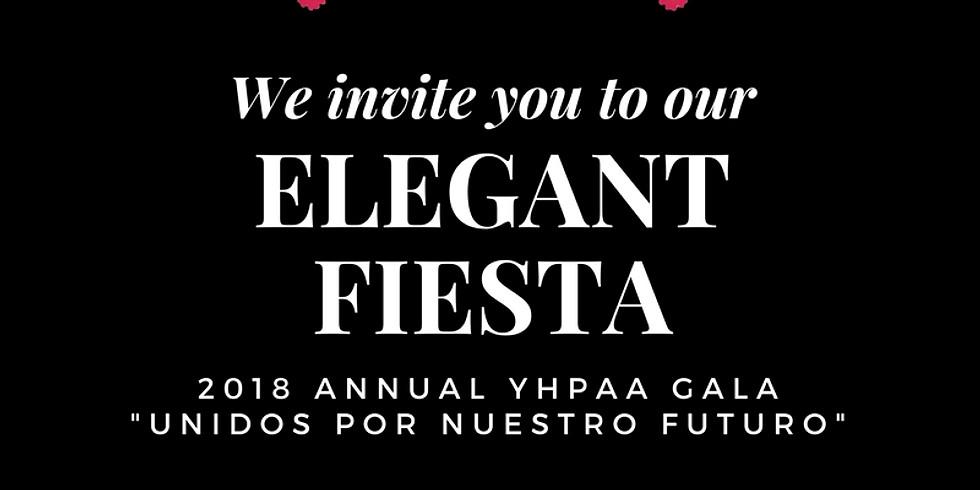 """Elegant Fiesta! 2018 Annual YHPAA Gala: """"Unidos Por Nuestro Futuro"""""""