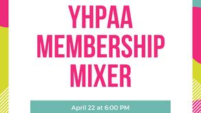 Virtual Event: YHPAA Membership Mixer
