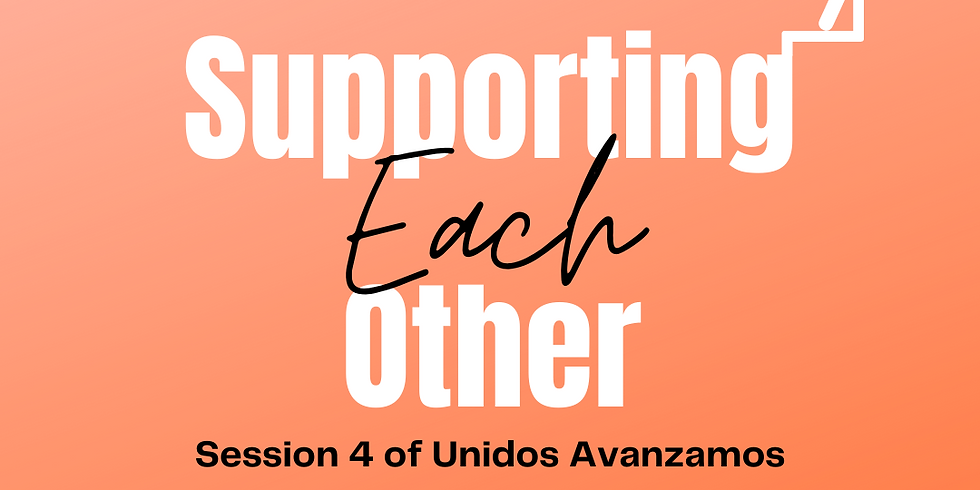 Unidos Avanzamos: Session 4, Not in a Bucket: Cultivating a Growth Culture