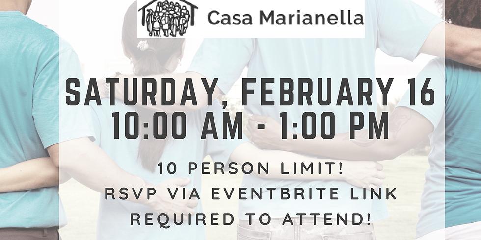 YHPAA Volunteering Event with Casa Marianella