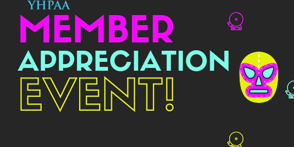 YHPAA Member Appreciation Event