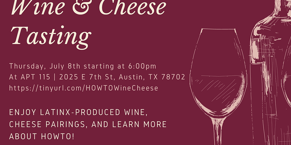 HOWTO Virtual Wine & Cheese Tasting