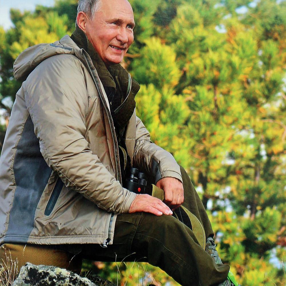 Calendar Putin 2020 in a jacket
