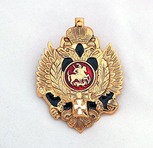 Empire Eagle Russische Abzeichen Pin Doppeladler Wappen Symbol Selten Russland
