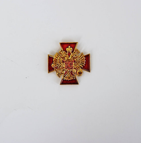 Coat of arms of Russia on the Order of the Cross
