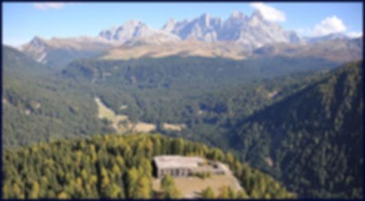 Forte Dossaccio di Paneveggio. Giro per escursioni mountain bike di Noleggio Mattioli Service