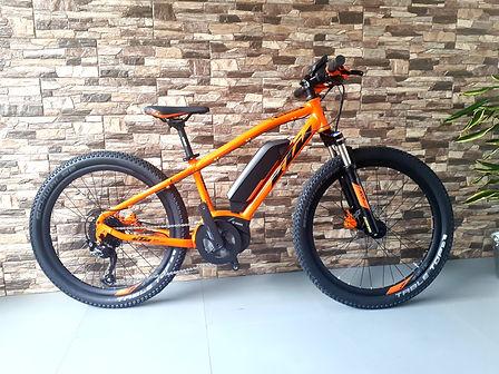 Nuove E-Bike KTM bambino Noleggio Ski & E-Bike Mattioli Service a Bellamonte/Predazzo