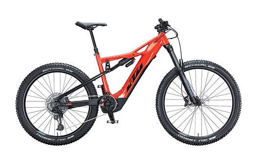 Noleggio E-Bike Full Suspension da adulto a Predazzo, Val di Fiemme. Motore Bosch e batteria da 625Wh