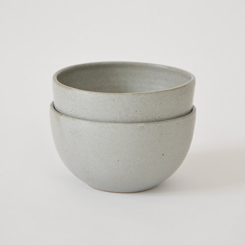 Blue grey medium bowl