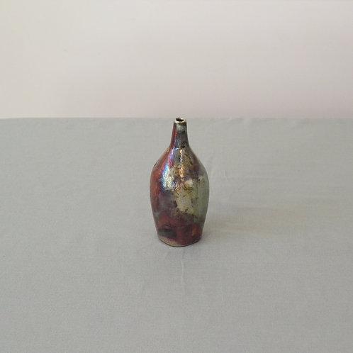 Small Raku bottle