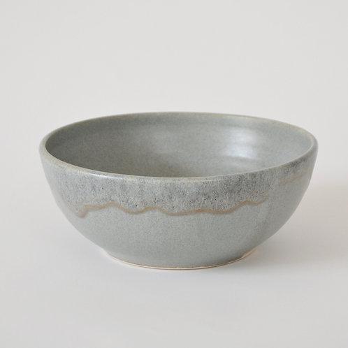 Blue grey big bowl