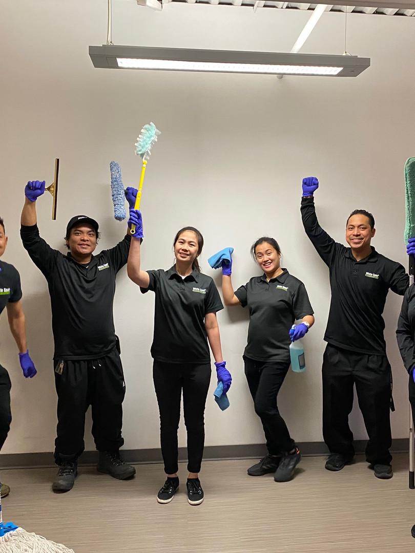 White Spot Janitorial Team.JPEG