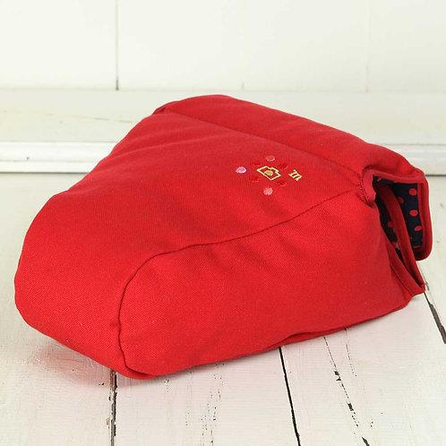 Camera Case/ XL size/ Needlework red