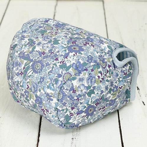 Camera Case/ M size/ Blue flower