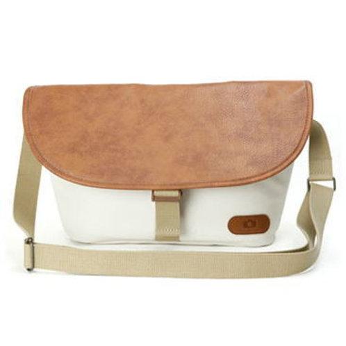 Simple shoulder bag/Light beige