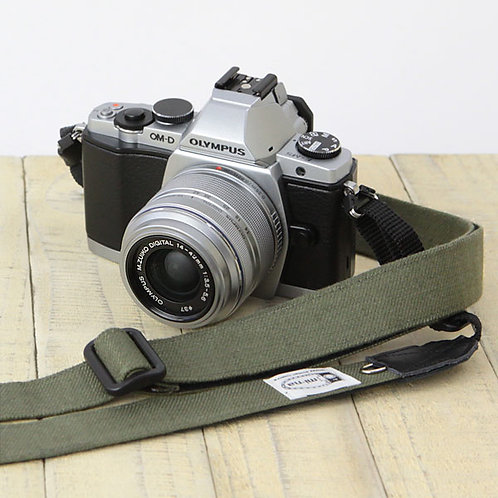 Camera Strap/ H.L.Linen khaki