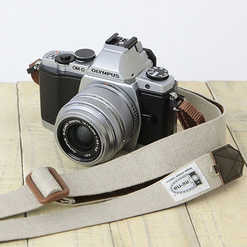 Camera Strap/ H.L.Linen beige