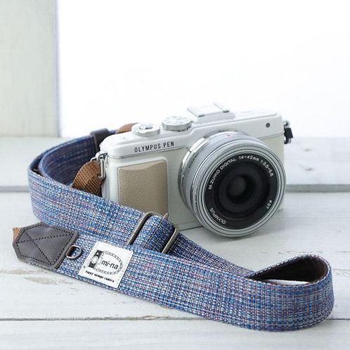 Camera Strap/ Blue mix