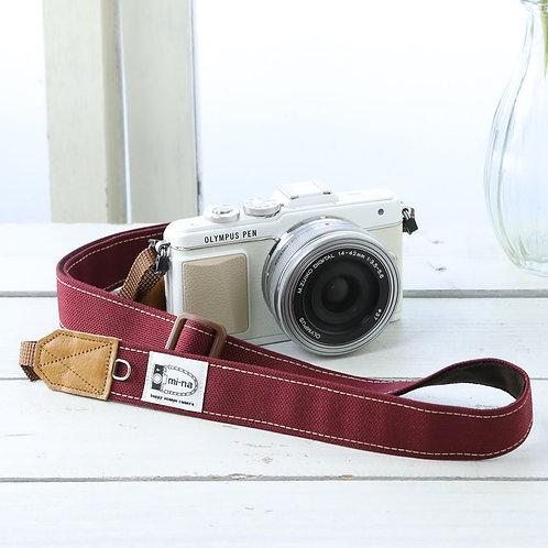 Camera Strap/ Burgundy