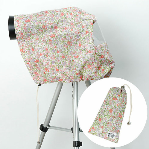 Rain cover /M size / Pink flower