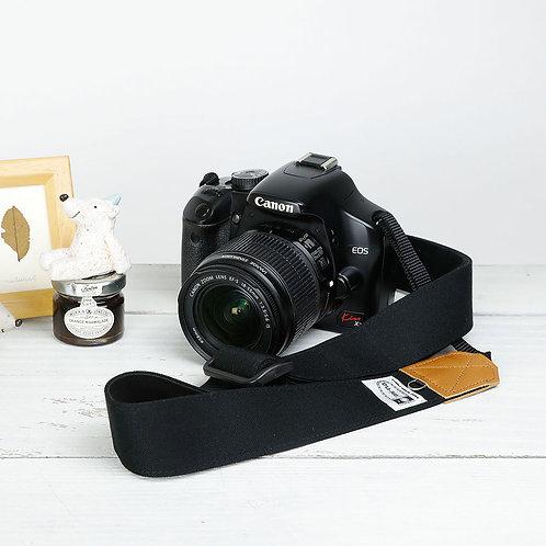 Camera Strap/Canvasblack