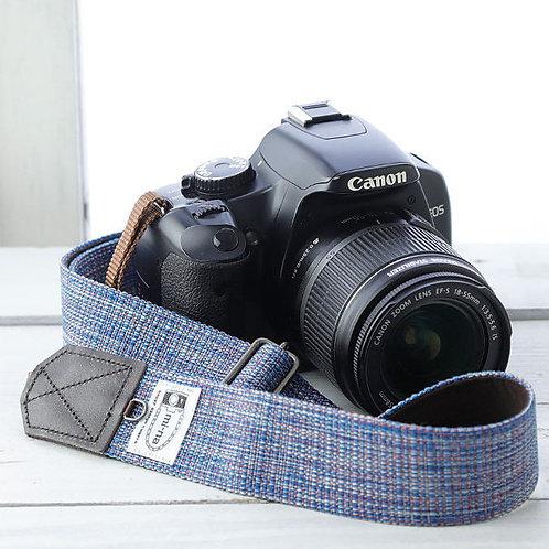 Camera Strap/Blue mix