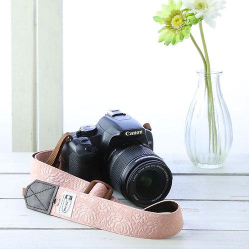 Camera Strap/Lady rose pink