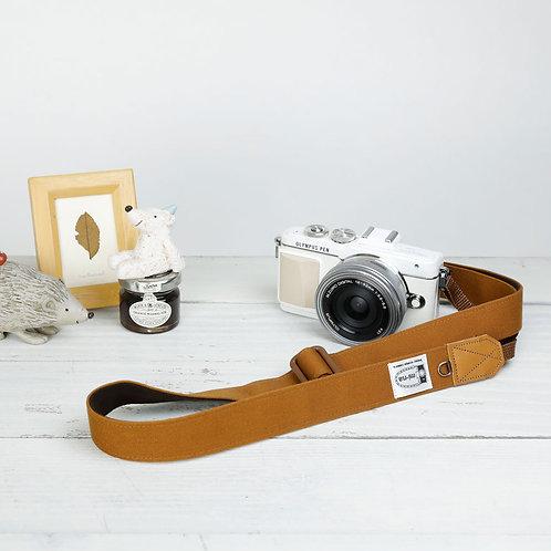 Camera Strap/ Canvasbrown